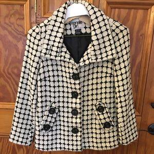 Kenzie girl size small women's wool blend jacket